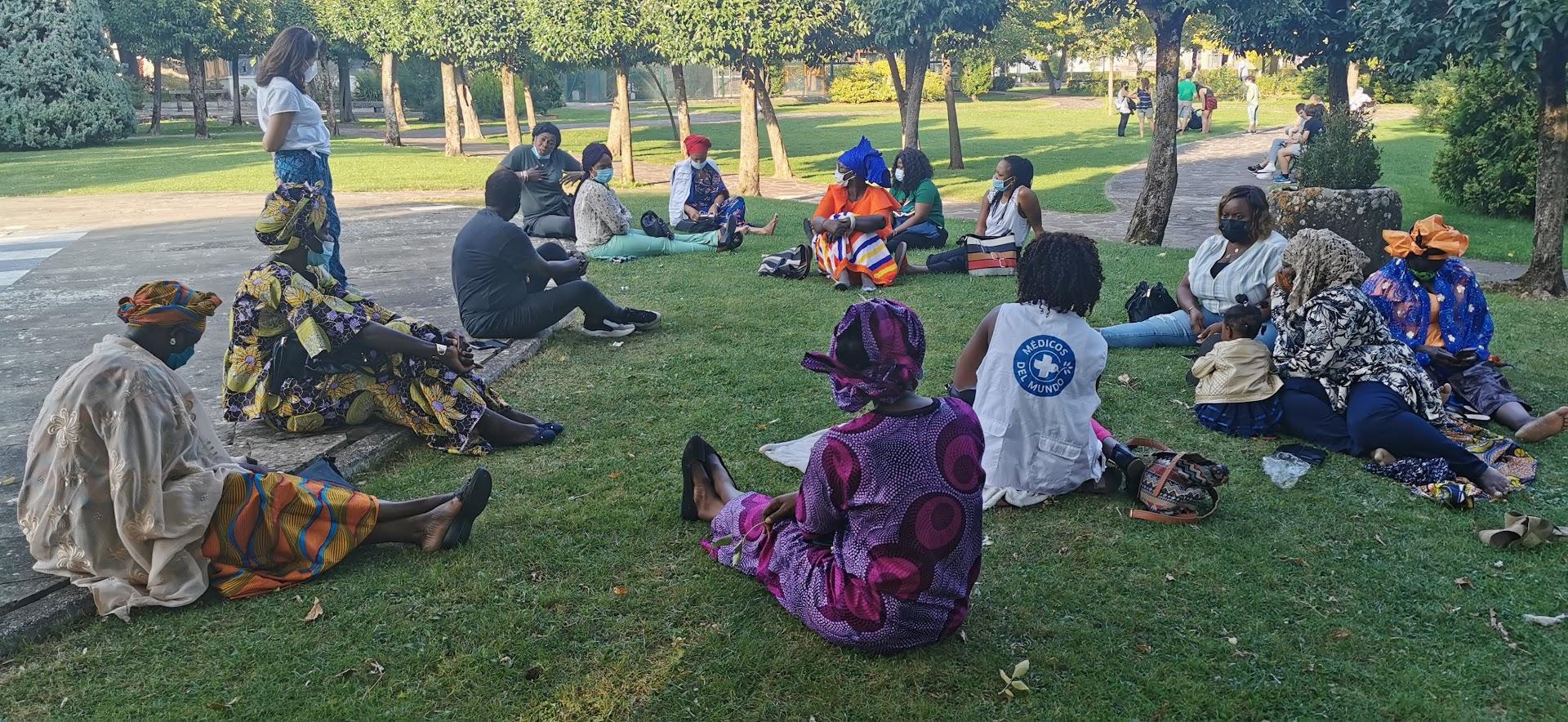 Taller Duelo Migratorio mujeres africanas