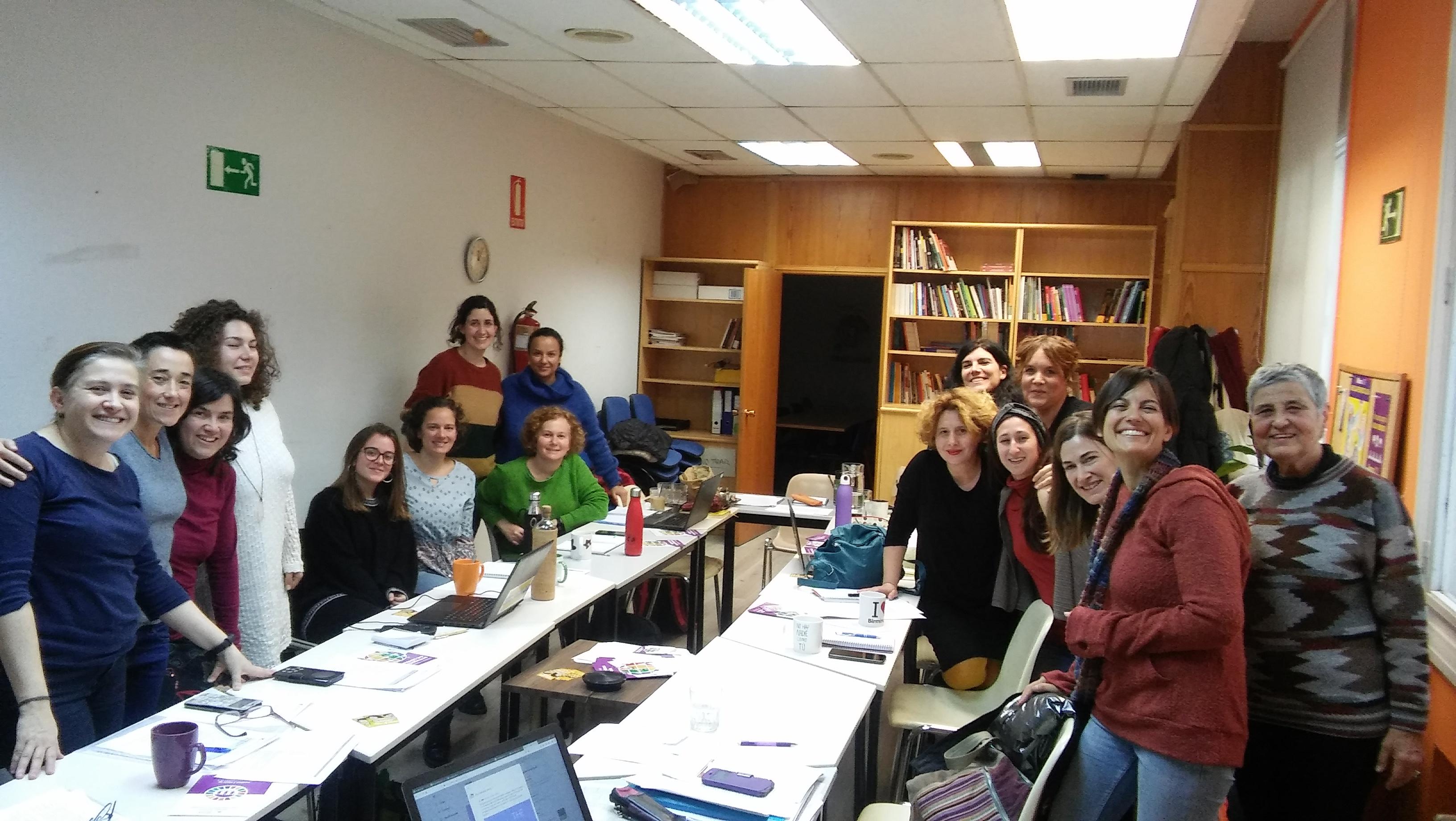 Reunion del grupo de Genero de la Coordinadora Estatal de ONGD