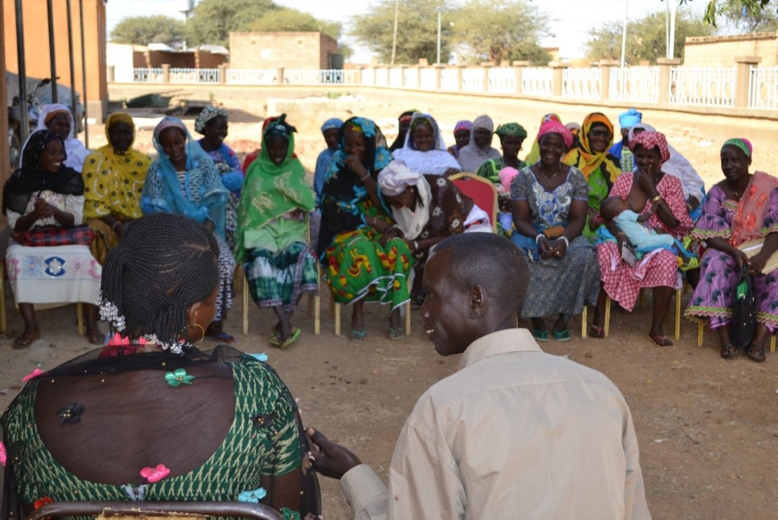 Capacitacion en derechos y salud sexual y reproductiva en Burkina Faso