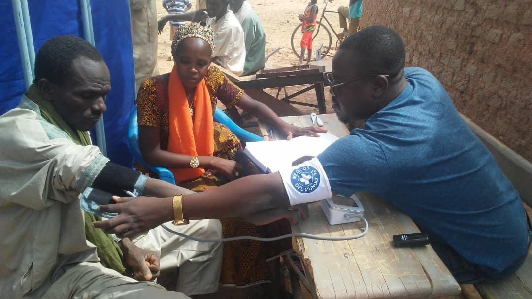 clinica movil en Djibo