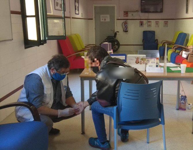 Prueba del VIH en la Semana del VIH en Sevilla