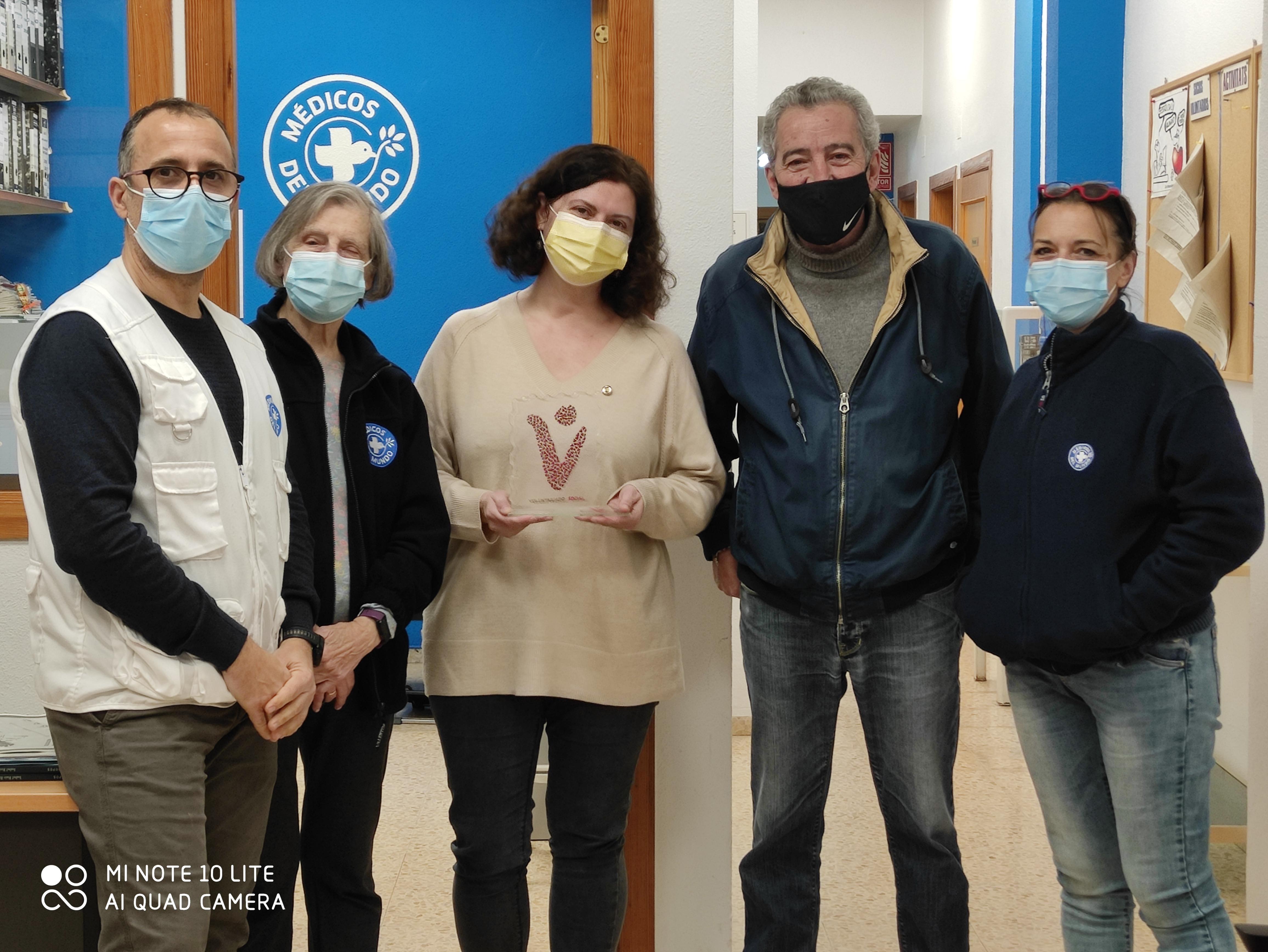 El voluntariado de la Comunidad Valenciana recibe el Premio en la categoría de Voluntariado Social